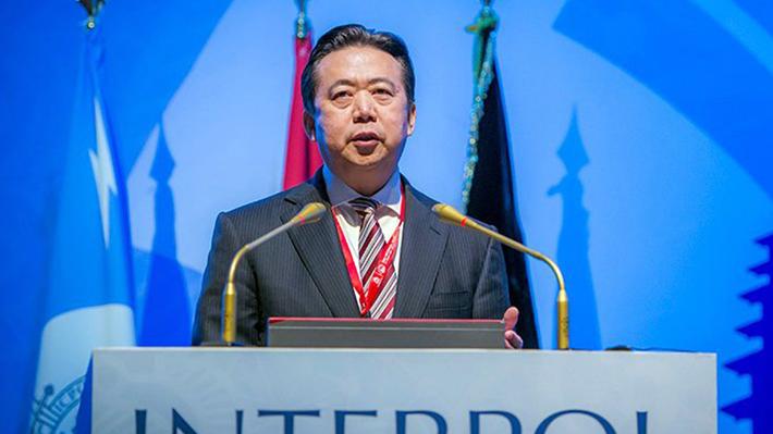China acusa al ex presidente de Interpol de haber recibido sobornos