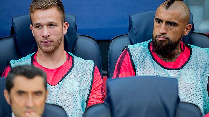 """Afirman que Vidal estaría """"incómodo"""" por ser suplente en el Barça y lo acusan de publicar un nuevo """"mensaje incendiario"""""""