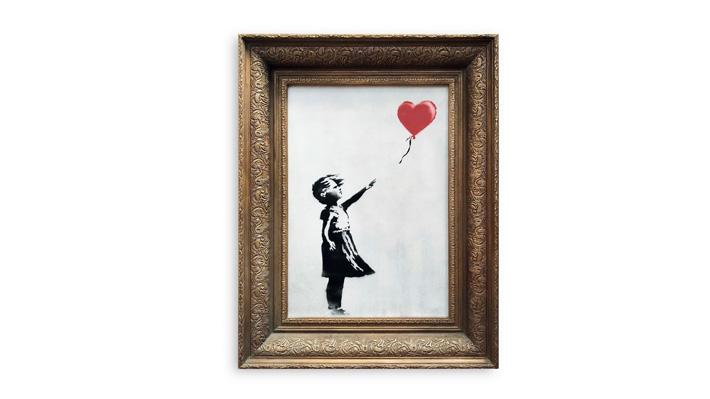 Banksy revela cómo y por qué destruyó una de sus obras al minuto de ser subastada