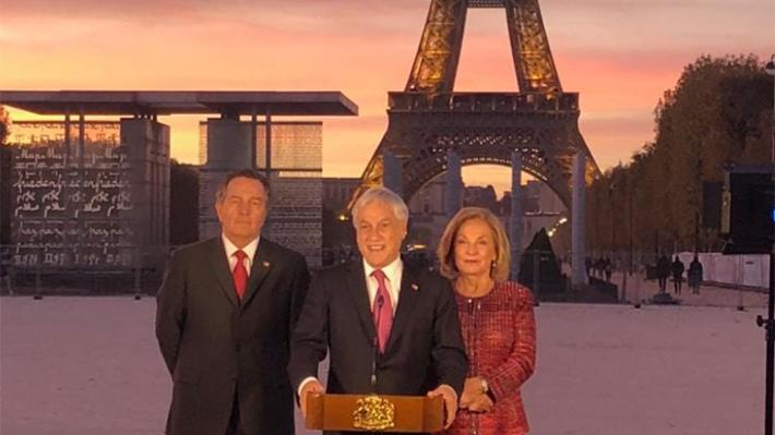 Piñera habla de Palma Salamanca con Macron: Chile quiere que pueda volver donde fue juzgado por un delito terrorista