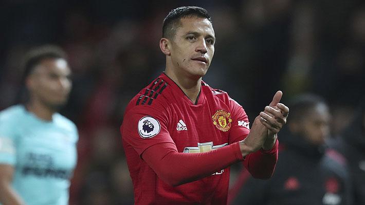 """En Inglaterra proponen un cambio de posición para Alexis en el United que """"podría salvar el trabajo"""" de Mourinho"""