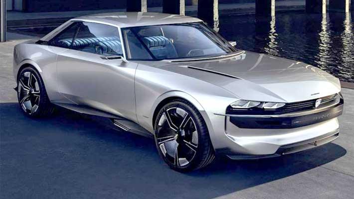 Conoce el auto conceptual que rinde homenaje al Peugeot 504 y que es todo un éxito