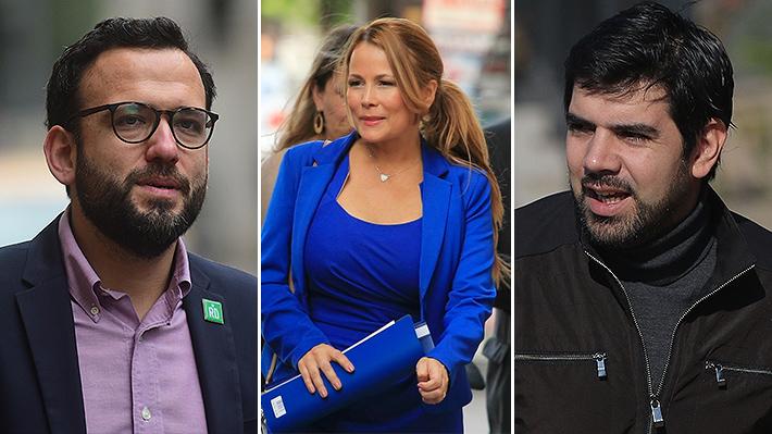 """Diputado Lavín encara a parlamentario del Frente Amplio acusando """"persecución"""" en contra de Cathy Barriga"""