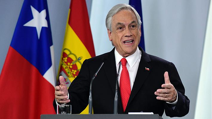 Piñera en Alemania: Se reunirá con Angela Merkel y visitará el memorial del Muro de Berlín