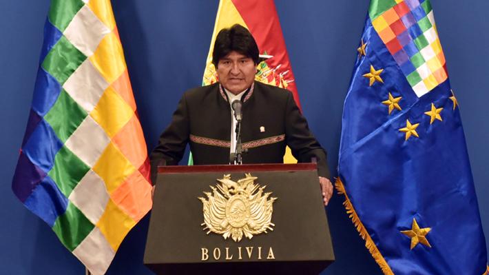 "Evo Morales invita formalmente a Presidente Piñera a ""reiniciar el diálogo"" tras fallo de La Haya"