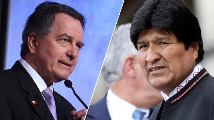 """Ampuero dice que fallo de La Haya es """"inapelable"""" tras carta de Evo Morales a Piñera"""