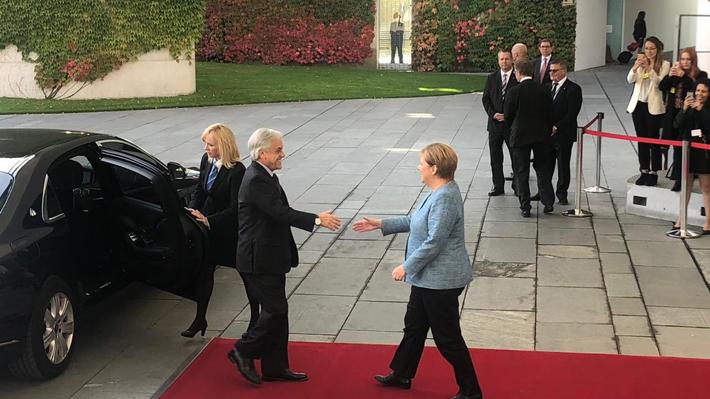 Colonia Dignidad, acuerdo con la UE y Venezuela: Los temas que abordó Piñera en su reunión con Ángela Merkel
