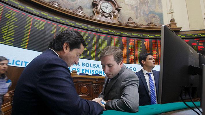 Bolsa chilena se contagia de las fuertes caídas de los mercados mundiales