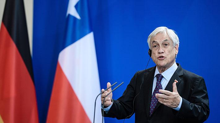 """Piñera destaca acuerdos alcanzados en Europa: """"Permitirán a Chile robustecer capacidad de crecer y crear empleos"""""""