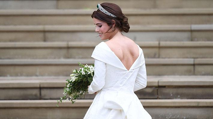 """¡Ya dieron el """"sí""""! Princesa Eugenia de York contrajo matrimonio con Jack Brooksbank"""