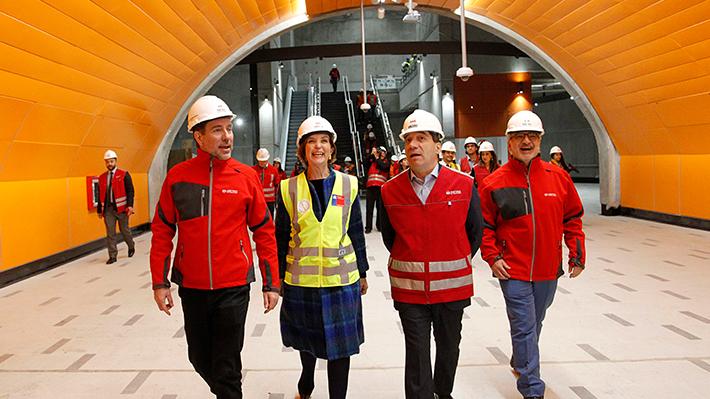 Línea 3 del Metro que conectará La Reina y Quilicura presenta un 96% de avance