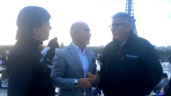 Organizadores del RallyMobil y llegada del WRC: