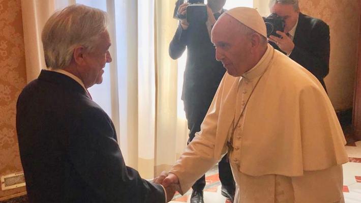 Papa aborda crisis de la Iglesia en Chile con Piñera y Vaticano expresa interés por fallo de la CIJ