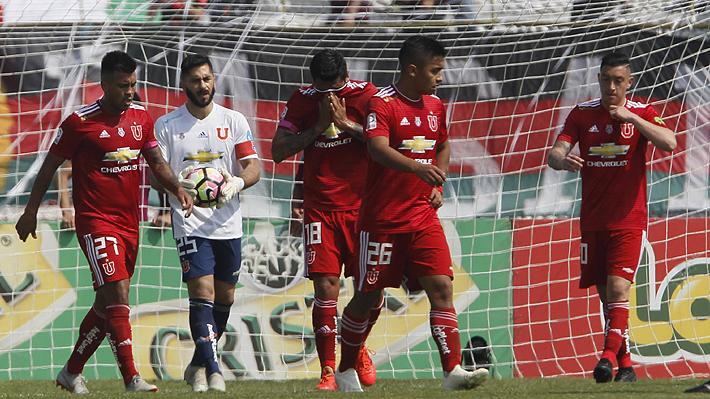Fracaso para Kudelka: Jugando un mal partido la U queda eliminada ante Palestino, que disputará la final de Copa Chile