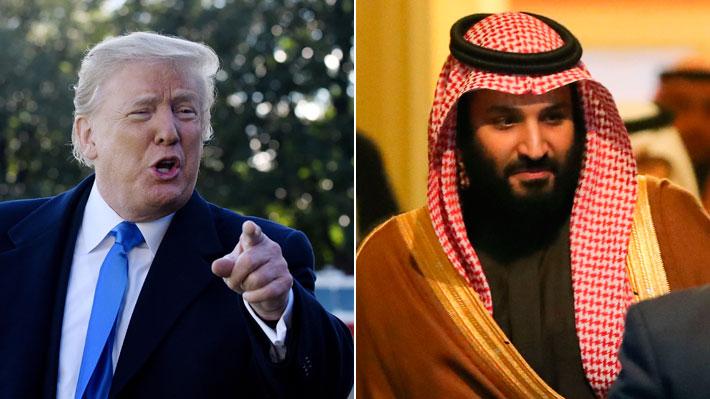 Trump amenaza a Arabia Saudita con