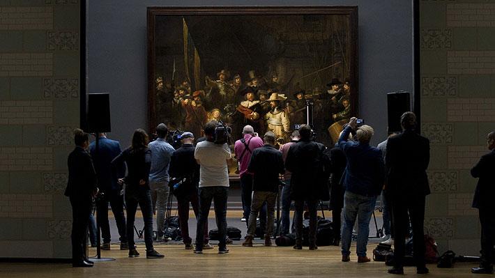 """""""La ronda de la noche"""", la obra más famosa de Rembrandt, será restaurada en público"""