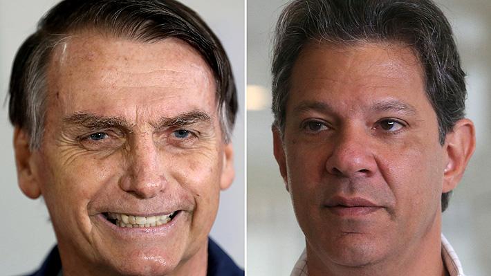 Bolsonaro estira las distancias con Haddad y se consolida con el 59% de las preferencias