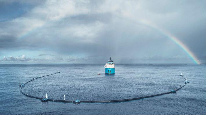 El proyecto para limpiar el Pacífico llega a destino y podrá comenzar a trabajar en las próximas horas
