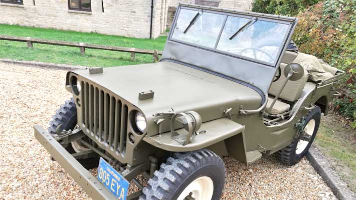 Antiguo Jeep Willys de Steve McQueen busca nuevo dueño