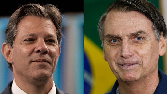 Bolsonaro amplía su ventaja frente a Haddad con un 59% de intención de voto