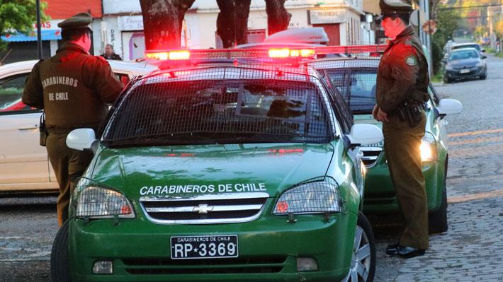 Hombre de 28 años muere tras ser impactado por vehículo conducido por menores que huían de Carabineros