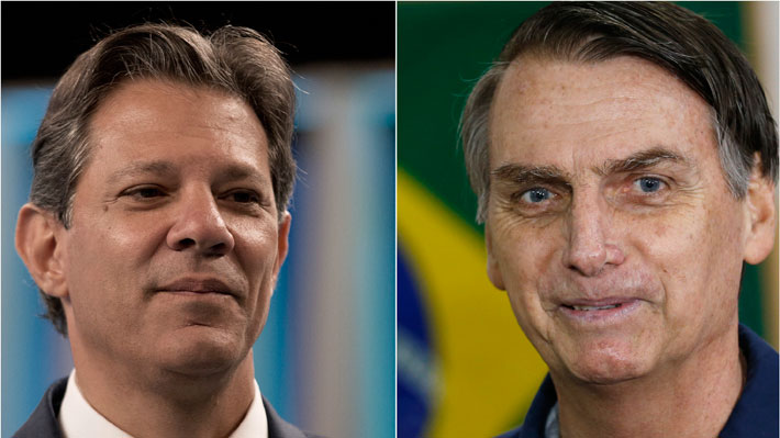 """A siete días de la segunda vuelta: Abren nueva investigación sobre """"noticias falsas"""" contra Haddad y Bolsonaro"""