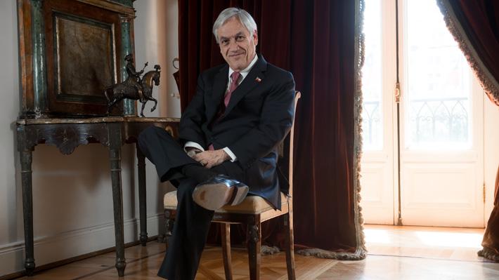 """Presidente Piñera: """"La centroizquierda habla mucho de pobreza e igualdad, pero aquí ya no basta con buenos discursos"""""""