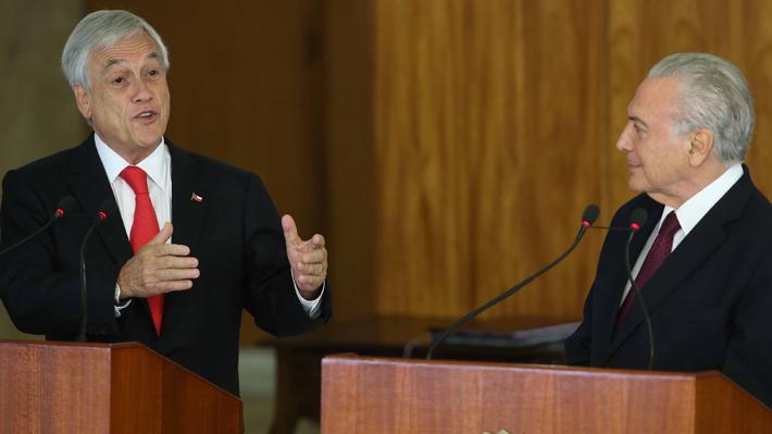 Chile y Brasil concluyen negociaciones para acuerdo de libre comercio que sería firmado a finales de año