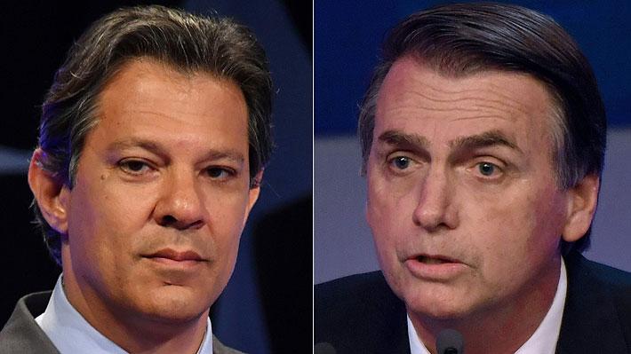 """Elecciones en Brasil: Haddad califica a Bolsonaro como """"un jefe de milicia"""" y a sus hijos como """"matones"""""""