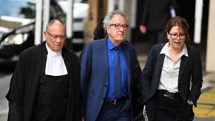 Geoffrey Rush confesó que acusación de acoso sexual en su contra afectó su vida y carrera