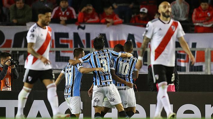 Gremio da un paso importante a la final de la Libertadores tras vencer a River Plate como visitante en Argentina