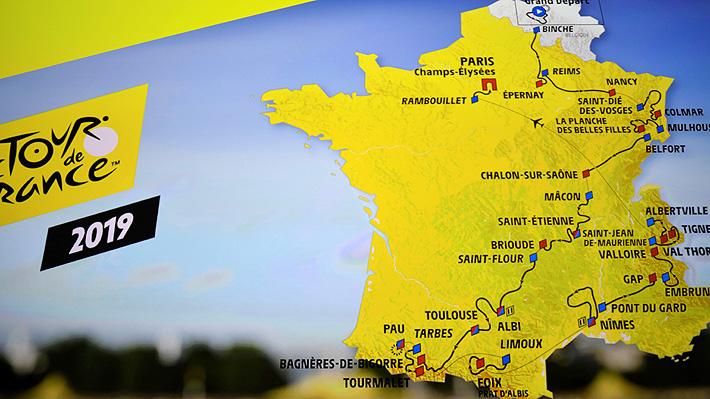 El Tour de Francia ya tiene recorrido para 2019: Treinta puertos y tres llegadas a más de 2.000 metros sobre el nivel del mar