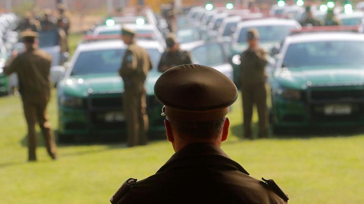 Al menos seis carabineros fueron detenidos por su presunta colaboración con banda delictual en Recoleta