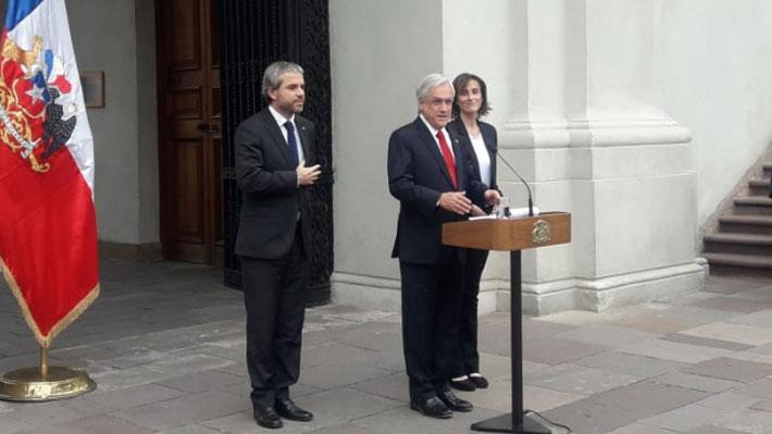"""Piñera celebra aprobación de Aula Segura en el Senado y anuncia que ahora se avanzará en """"consultorios seguros"""""""