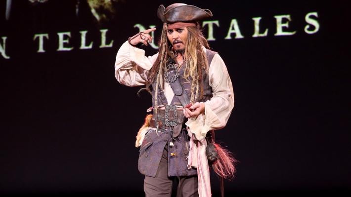 """Johnny Depp dejaría de interpretar a Jack Sparrow en """"Piratas del Caribe"""" tras estar en cinco películas de la saga"""