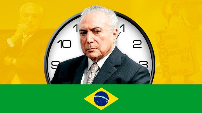 Cronología: Los movidos años de Michel Temer al mando de Brasil