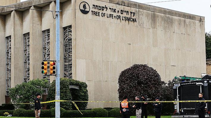 """Aumentan los muertos por tiroteo en sinagoga en EE.UU. y Trump dice que """"no debe haber tolerancia para el antisemitismo"""""""
