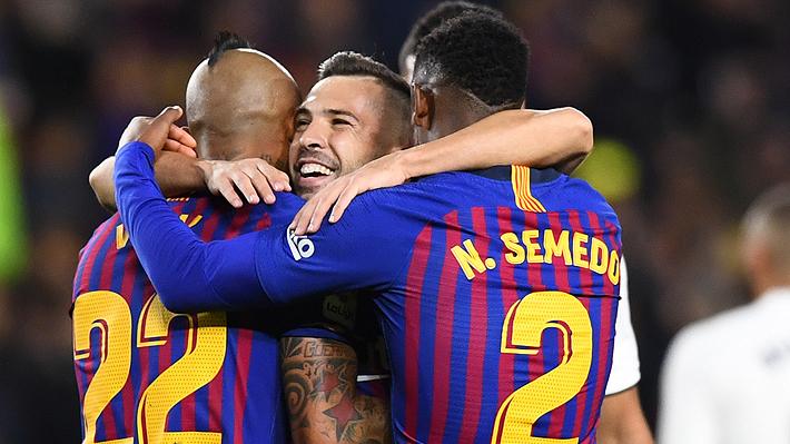 """Valverde elogió a Vidal tras su gol al Madrid: """"Es un premio para él, ha caído muy bien en el plantel"""""""