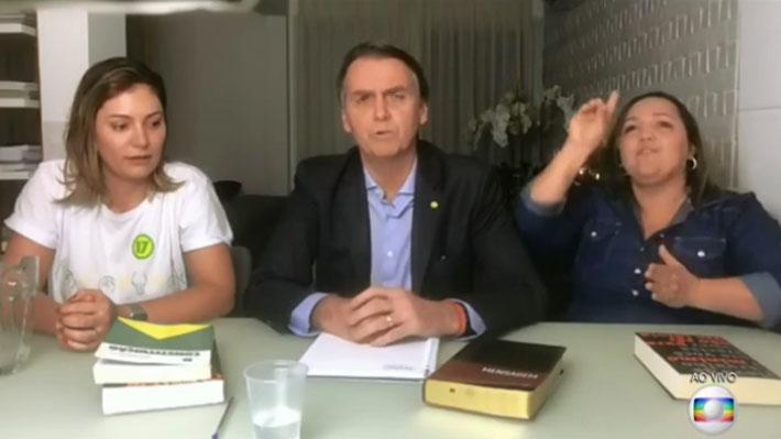 """Bolsonaro se compromete a """"cambiar juntos el destino de Brasil"""" tras ser electo Presidente"""