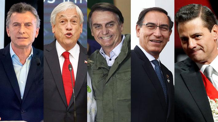 De Macri a Piñera: Las reacciones de los líderes políticos mundiales tras el triunfo de Bolsonaro en Brasil