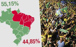 Bolsonaro ganó en 16 de los 27 estados: Cómo quedó el mapa electoral brasileño
