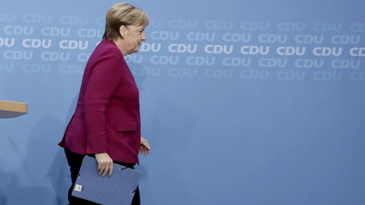 Angela Merkel confirma que no postulará a la reelección como Canciller alemana