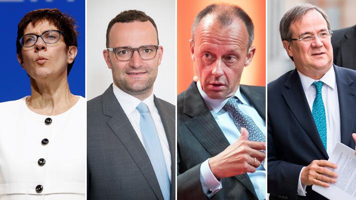 Tras anuncio de Merkel: Los rostros que suenan para suceder a la Canciller alemana