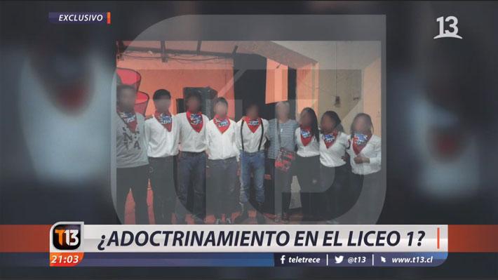 """Defensora de la Niñez presentó recurso de protección contra Canal 13 por """"estigmatizar"""" a  alumnas del Liceo 1"""