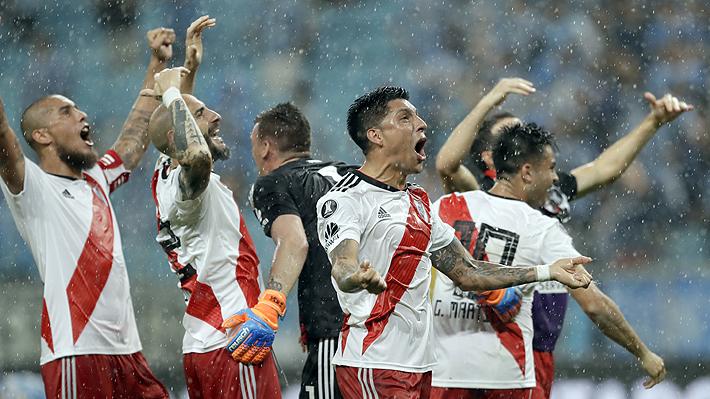 En un final de infarto y con un penal cobrado por el VAR, River derrota a Gremio y es el primer finalista de la Libertadores
