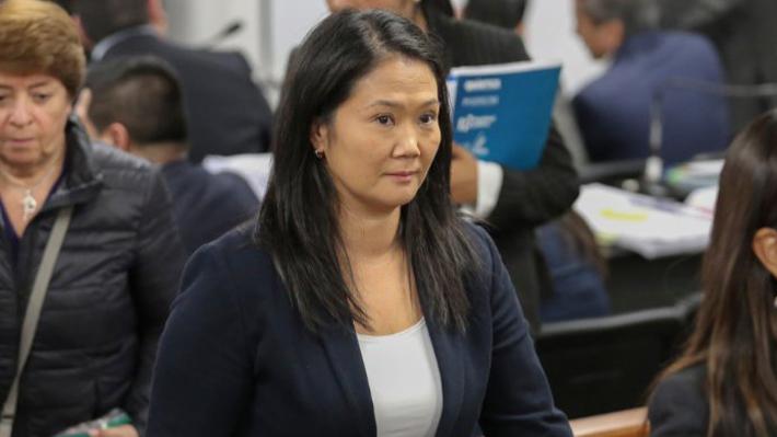 Por 36 meses: Justicia peruana ordena prisión preventiva para Keiko Fujimori