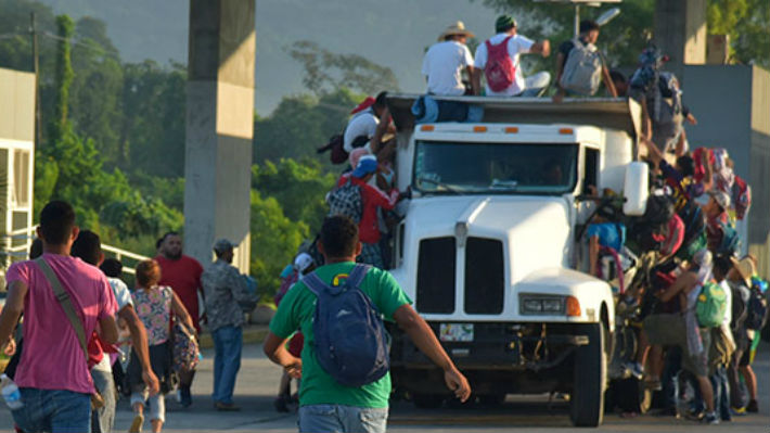 Caravanas a Estados Unidos: El Salvador cifra en más de 1.700 a los ciudadanos que participan en la migración