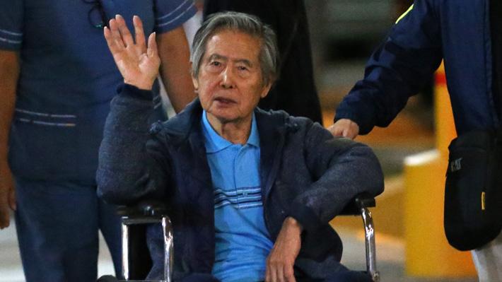 Tras un mes internado en la clínica, Alberto Fujimori pide perdón a su hija Keiko por meterla en política