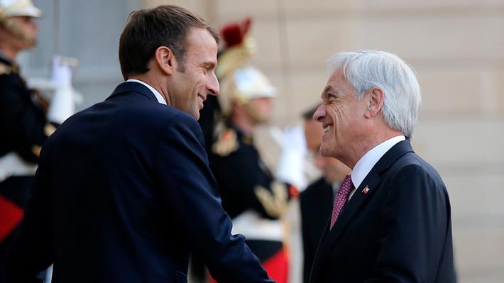"""Piñera pedirá a Macron """"intermediar"""" para que se revoque asilo político a Palma Salamanca"""