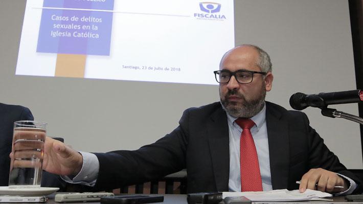Fiscal nacional suspende a director de la unidad de violencia de género y delitos sexuales tras denuncia de acoso